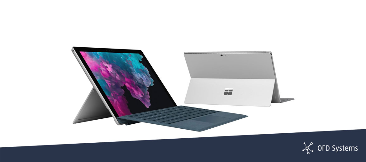 Die neuste Generation Microsoft Surface